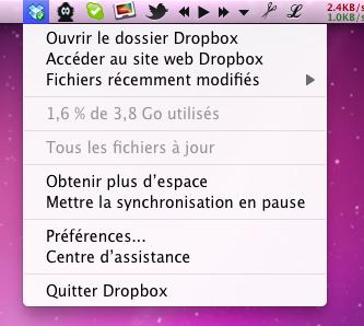 télécharger dropbox mac français gratuit