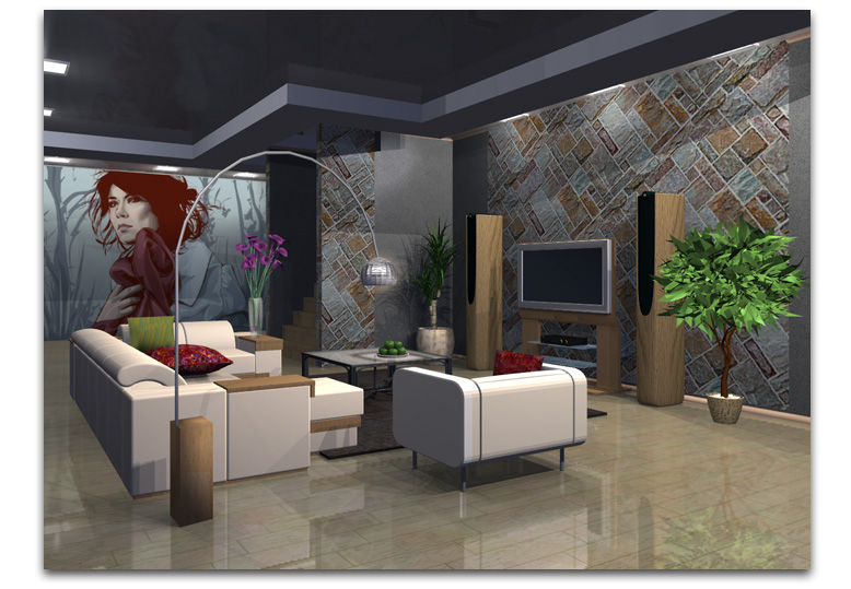 app live interior 3d mod lisez votre int rieur en 3d. Black Bedroom Furniture Sets. Home Design Ideas