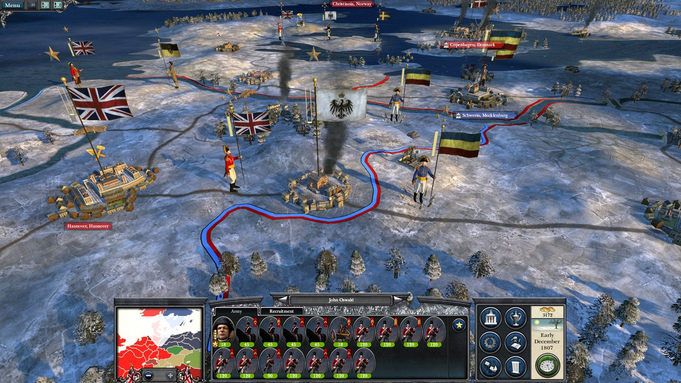 Napoleon Total War mac: Europe