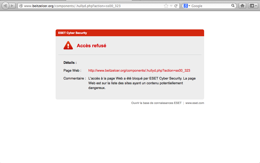 Eset anti phishing