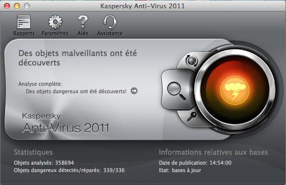 Kaspersky pour mac