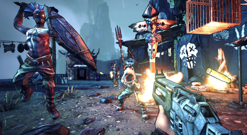 Borderlands 2 DLC Hammerlock
