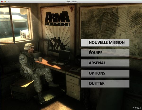 ArmA Tactics accueil