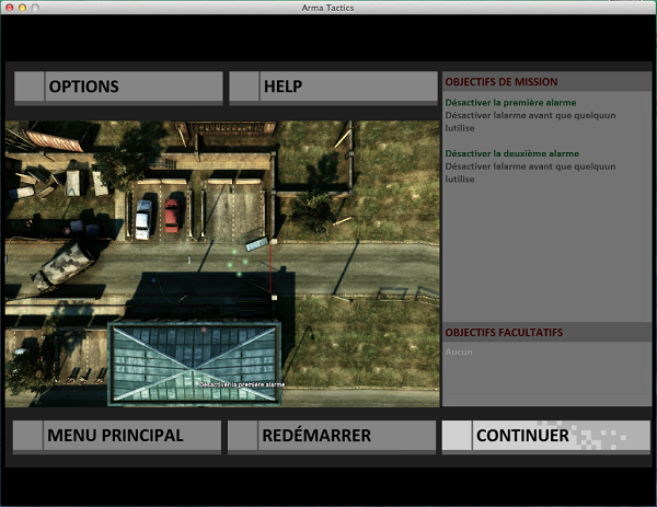 ArmA Tactics options