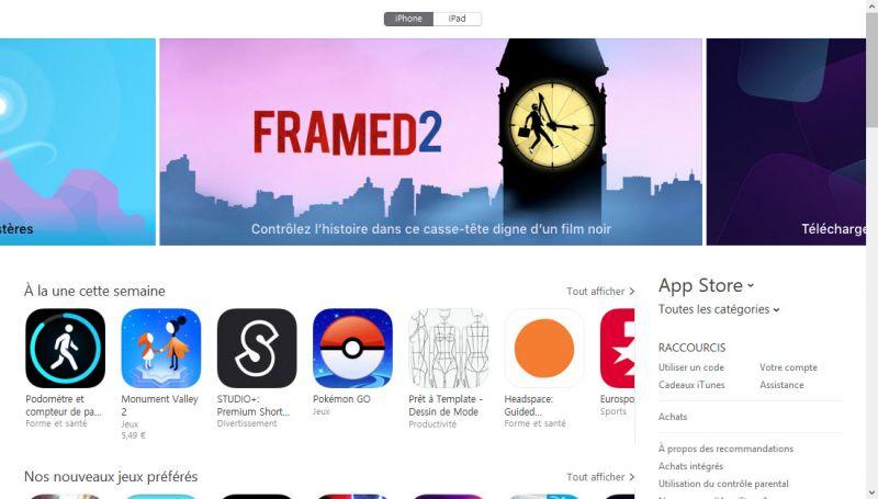 Grand ménage en cours sur l'App Store — Apple
