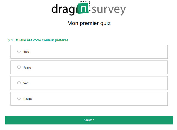 Drag'n Survey