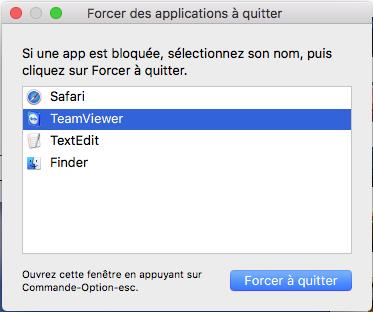 Astuce Mac Comment Forcer La Fermeture Des Apps Qui Ne Repondent