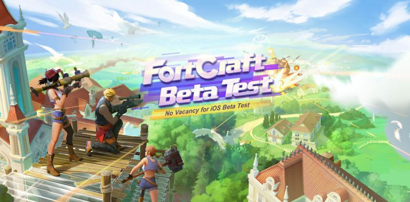 FortCraft iOS bêta test