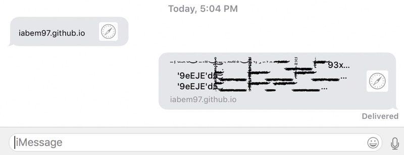 Bug text