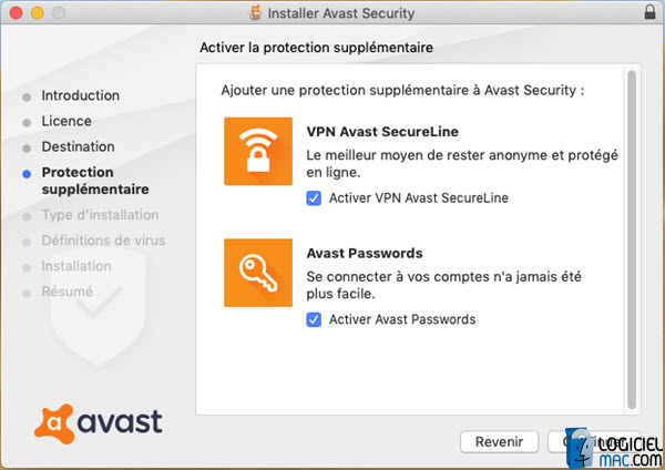 Avast Security installation