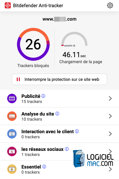 Bitdefender Anti Tracker