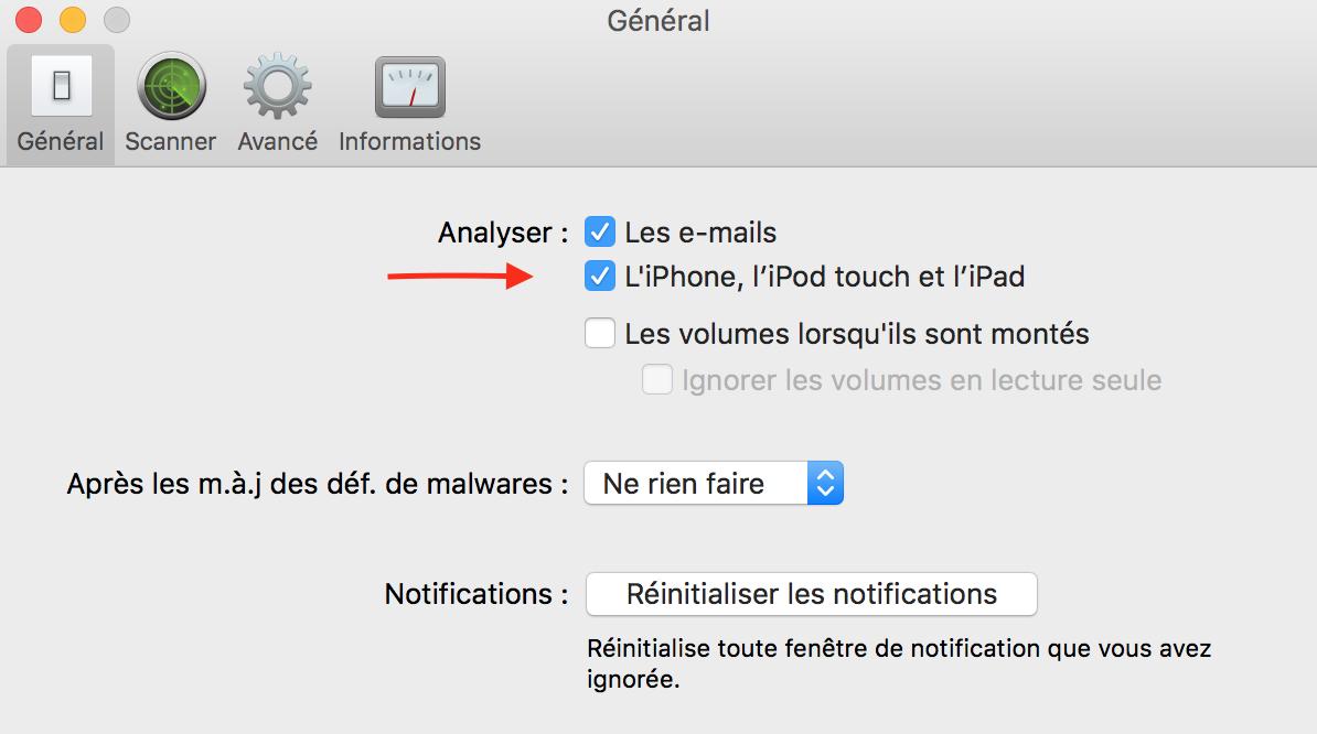 Virus BarrierX9 iOS activation