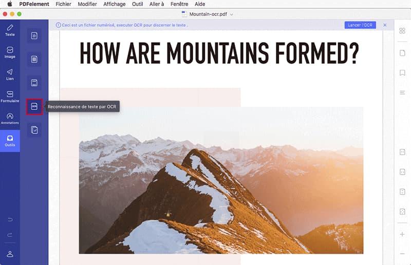 Mountain Wondershare PDf